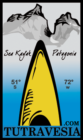 sea kayak patagonia chile logo